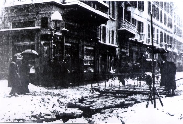 Foto storica di Strada Nuova, anno 1933