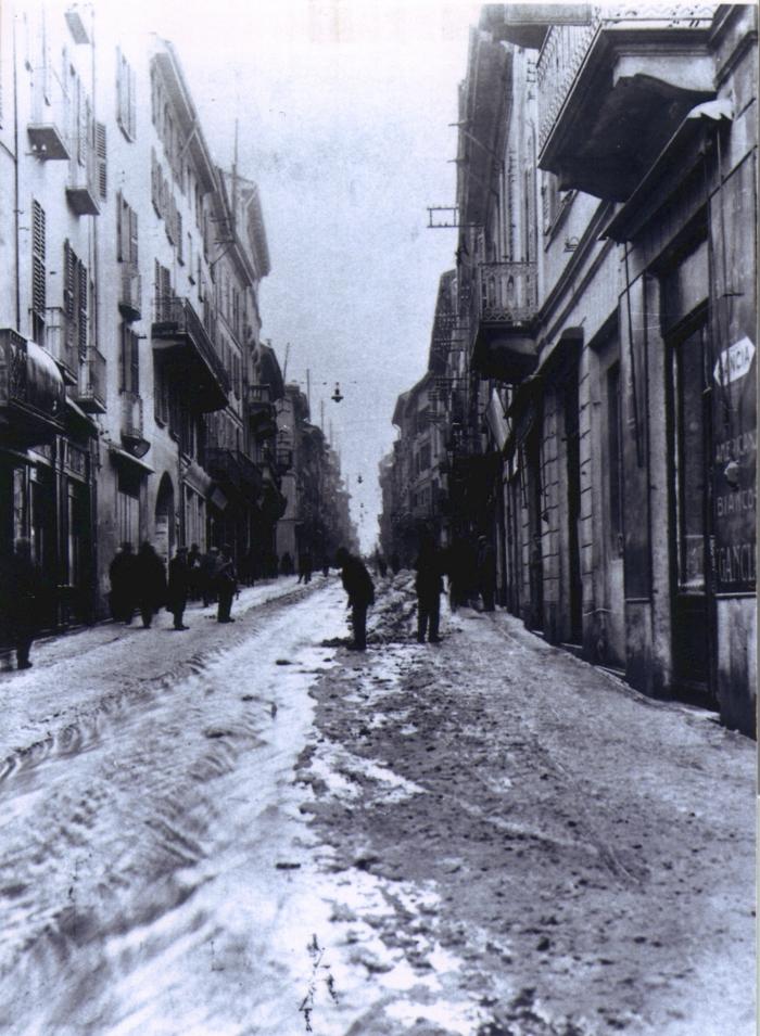 Strada Nuova nel 1947