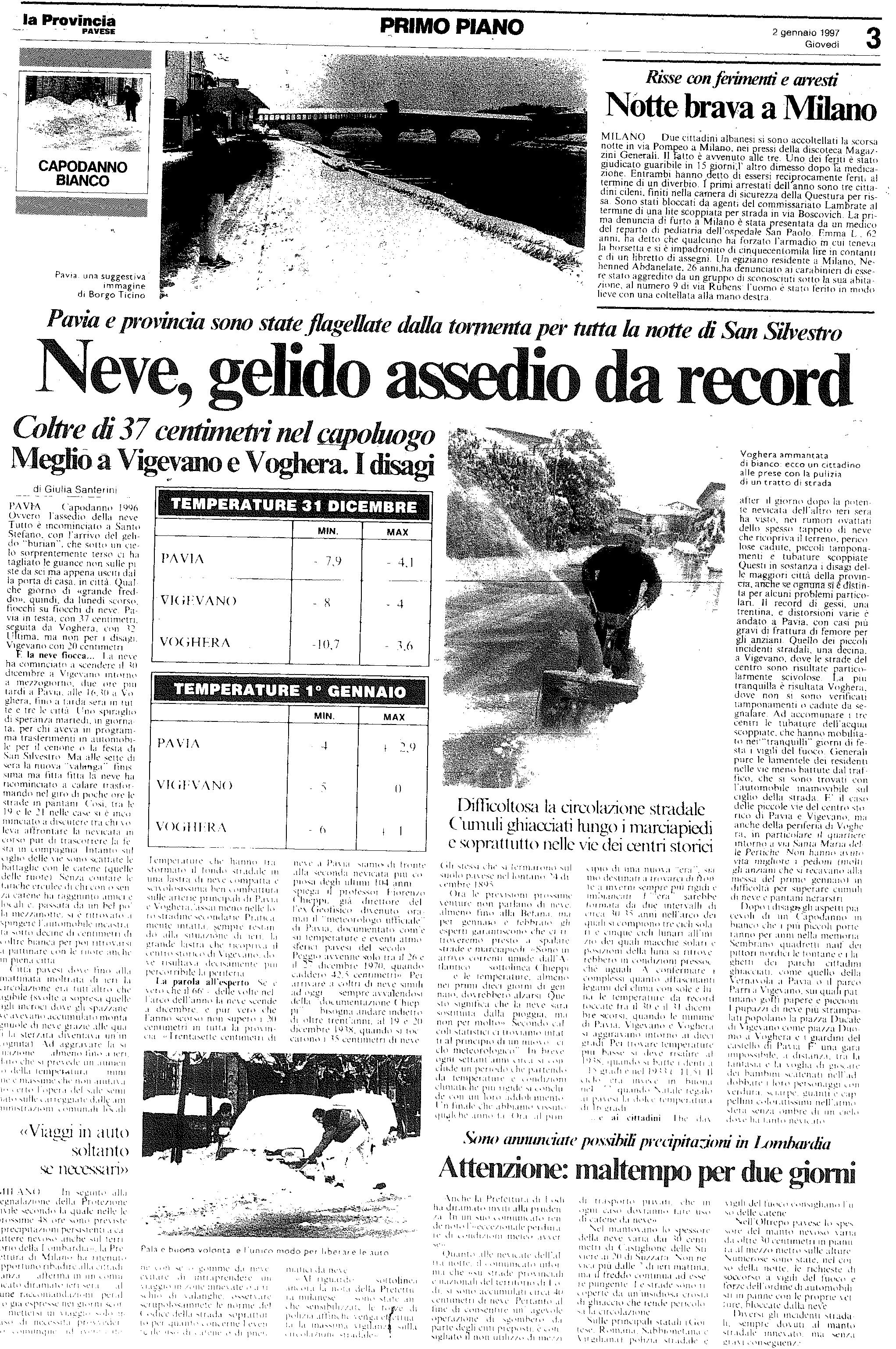 2 gennaio 1997