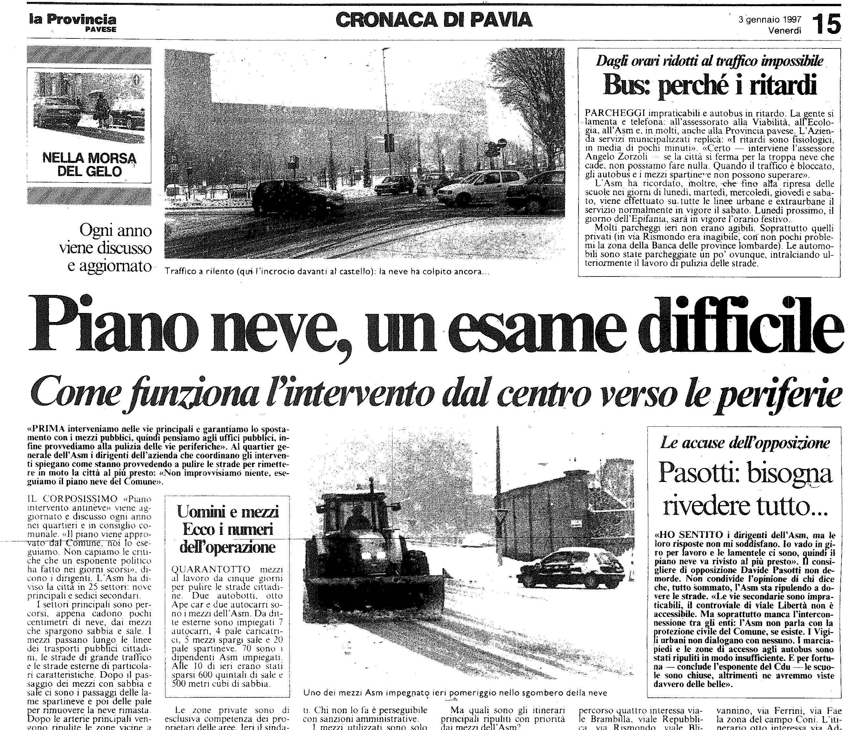 3 gennaio 1997